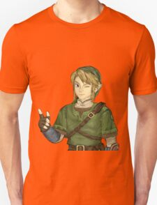 twilight princess link sticker Unisex T-Shirt