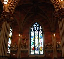 South Wall - Nave by John Schneider