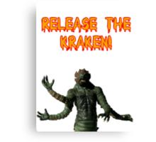 Release the Kraken Canvas Print