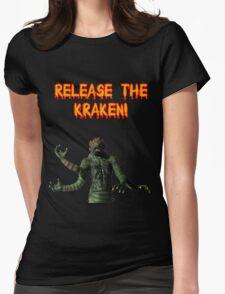 Release the Kraken Womens Fitted T-Shirt