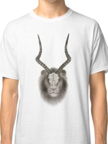 Predator and Prey: Lion and Antelope Classic T-Shirt