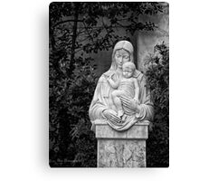 The Virgin Mary Canvas Print