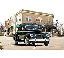 1939 Ford 'Deluxe' Coupe Photographic Print