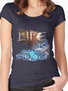 Strange Women's Fitted Scoop T-Shirt