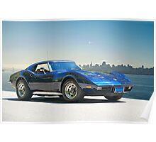 1978 Corvette 'Skyline Vette' Poster