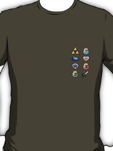 Tiny Zelda Items T-Shirt
