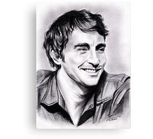 Lee Pace, charming smile Canvas Print