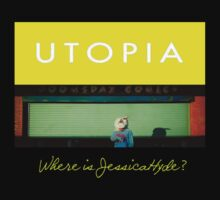 Utopia - T-Shirt - Where Is Jessica Hyde? by MrWhiteBRBA