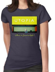 Utopia - T-Shirt - Where Is Jessica Hyde? Womens Fitted T-Shirt