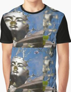 Buddha reflection. Graphic T-Shirt