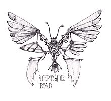 Steampunk Butterfly - Neptune Road Photographic Print
