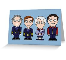 Cabin Pressure mini people (card) Greeting Card