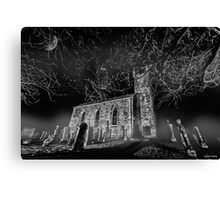 To Reach, but Reach Not... || Fintry Kirk, Fintry Canvas Print