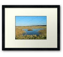 Lone Island - Blakeney to Cley Walk  Framed Print