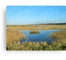 Lone Island - Blakeney to Cley Walk  Canvas Print