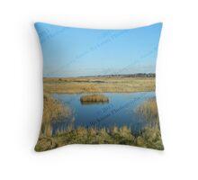 Lone Island - Blakeney to Cley Walk  Throw Pillow