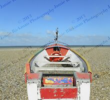 Pasted Journeys - Cley Beach  by jamierickman