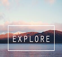 Explore. New Zealand by Nicola  Pearson