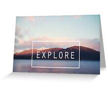Explore. New Zealand Greeting Card