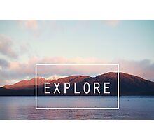 Explore. New Zealand Photographic Print