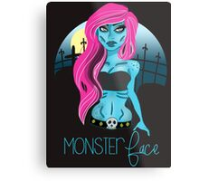 The Undead Girl Metal Print