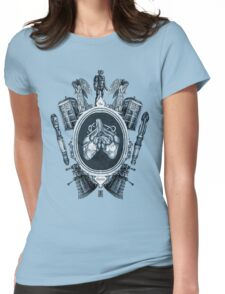 "serie ornate : ""the doctor"" Womens Fitted T-Shirt"