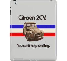 Citroen 2CV iPad Case/Skin
