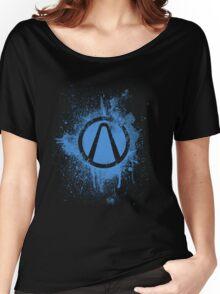 Vault Logo Splatter [V1] Women's Relaxed Fit T-Shirt