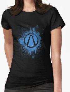 Vault Logo Splatter [V1] Womens Fitted T-Shirt