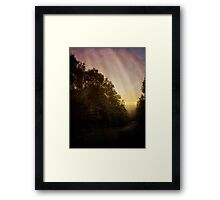 The Simple Path Home Framed Print