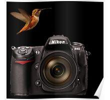 HUMMINGBIRD PHOTOGRAPHER~(my new Avatar) Poster
