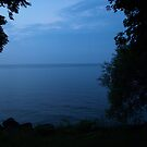 Niagara On The Lake At Dusk by Barry W  King