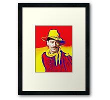 John Wayne in Rio Grande Framed Print