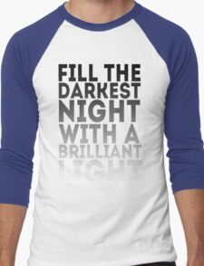 Brilliant Light Men's Baseball ¾ T-Shirt