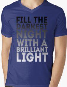 Brilliant Light Mens V-Neck T-Shirt