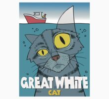 Great White Cat Kids Clothes