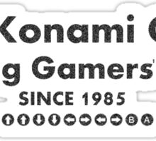 The Konami Code Sticker