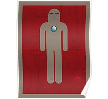Iron Men's Room Mark I Poster