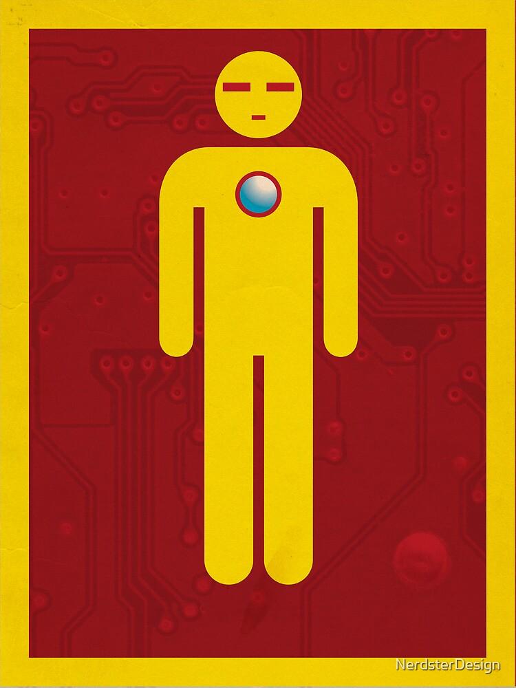 Iron Men's Room Mark II by NerdsterDesign