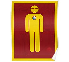Iron Men's Room Mark II Poster