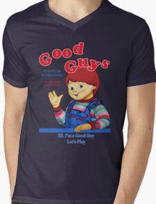 Good Guys Mens V-Neck T-Shirt