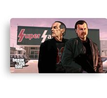 Uncle Jack and Kenny GTA Style  Canvas Print