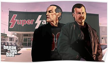 Uncle Jack and Kenny GTA Style  by Messypandas