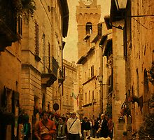 Main Street-Tuscany by Deborah Downes