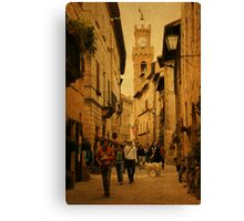 Main Street-Tuscany Canvas Print