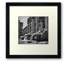 Fontana di Trevi, Rome Framed Print