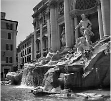 Fontana di Trevi, Rome Photographic Print