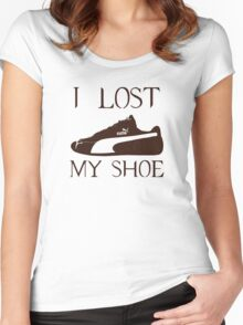 I lost my shoe (Supernatural) Women's Fitted Scoop T-Shirt
