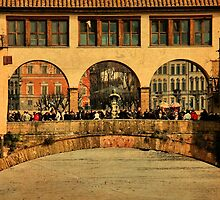 Three Arches-Florence, Italy by Deborah Downes