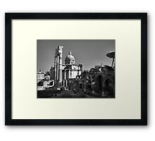 Old City, Rome Framed Print